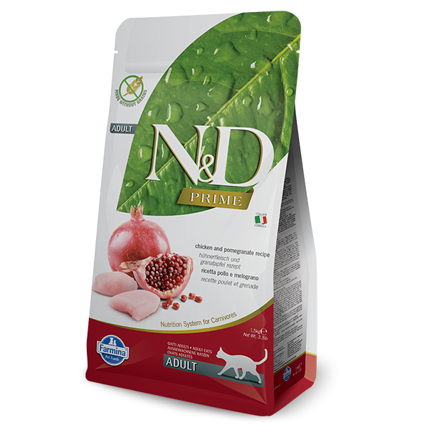 N&D Grain Free Prime Chicken & Pomegranate Adult FELINE- 300g
