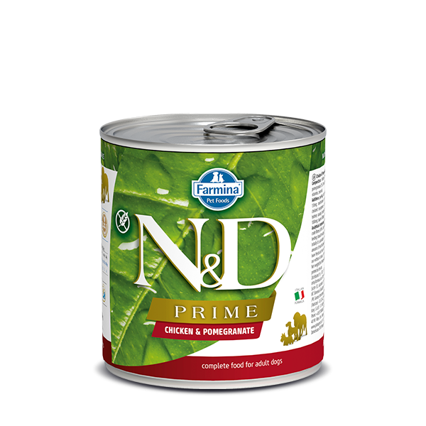 N&D Grain free chiken and pomegranate wet food adult 285gr