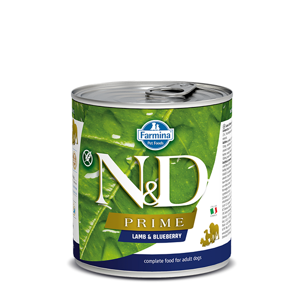 N&D Grain free lamb and blueberry wet food  285gr