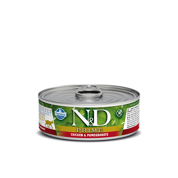 N&D Grain Free Prime CHICKEN AND POMEGRANATE WET FOOD 80G