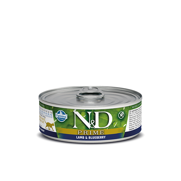 N&D Grain Free Prime LAMB AND BLUEBERRY WET FOOD 80g