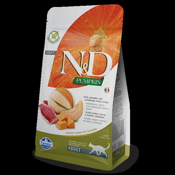 N&D PUMPKIN, DUCK AND CANTALOUPE MELON-1,5kg