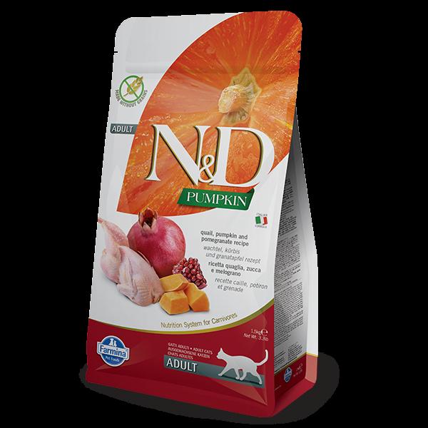 N&D PUMPKIN, QUAIL AND POMEGRANATE-1,5kg