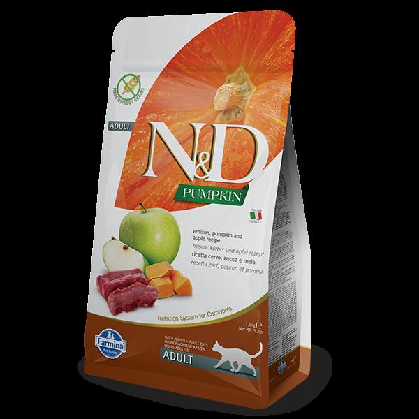 N&D PUMPKIN, VENISON AND APPLE-1,5kg