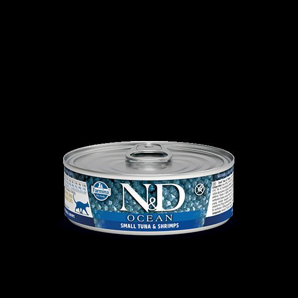 N&D Ocean Tuna & Shrimp Adult wet food 80g