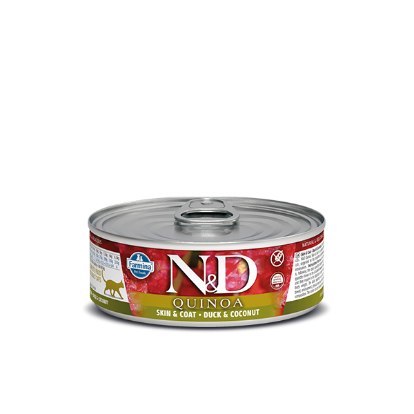 N&D Quinoa Skin&coat duck wet food 80gr