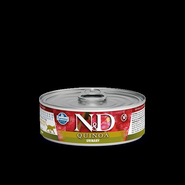 N&D Quinoa Urinary wet food 80gr