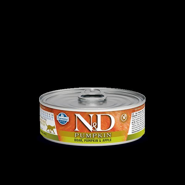 N&D BOAR, PUMPKIN & APPLE WET FOOD 80 g