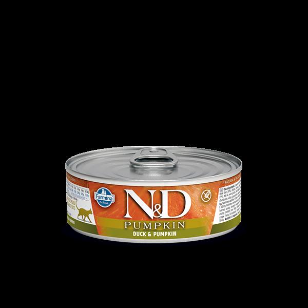N&D DUCK & PUMPKIN WET FOOD 80g