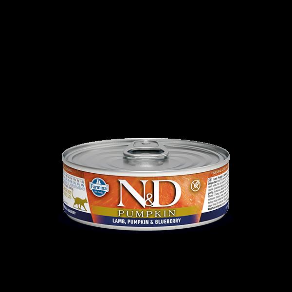 N&D LAMB, PUMPKIN & BLUEBERRY WET FOOD 80g