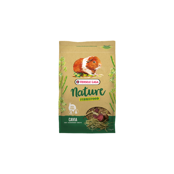 VERSELE-LAGA Nature FIBREFOOD CAVIA (Porco da India)