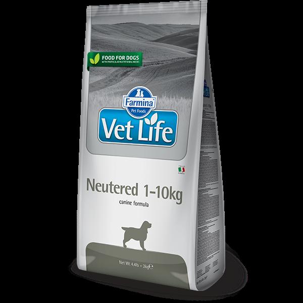 Vet Life Neutered 1-10Kg Canine-2Kg