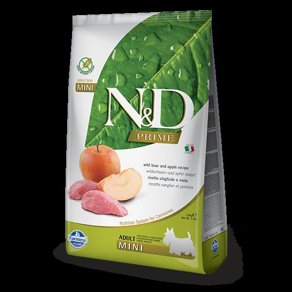 N&D Grain Free Prime Boar & Apple Adult Mini Dog 2,5Kg