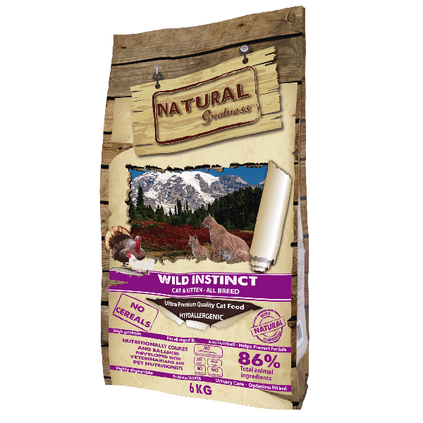 Natural & Greatness Wild Instinct-2Kg