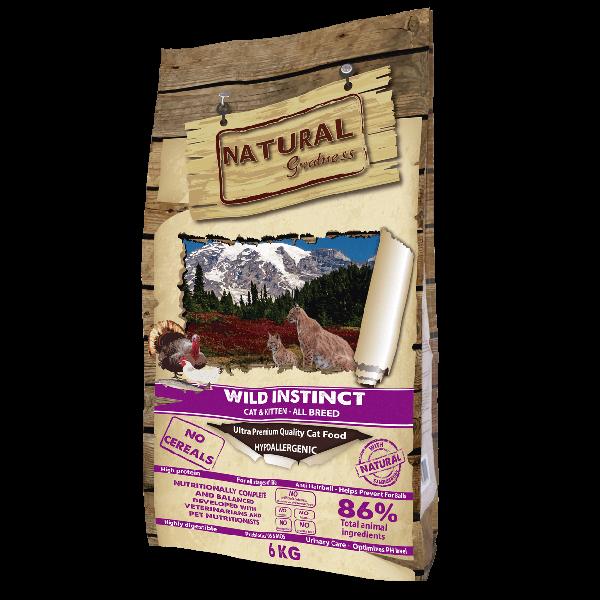 Natural & Greatness Wild Instinct-6Kg