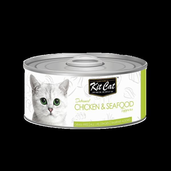 KITCAT CHICKEN & SEAFOOD 80 GR