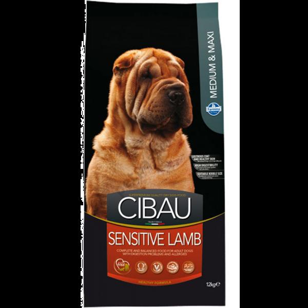 Cibau Sensitive Lamb Medium & Maxi-12Kg
