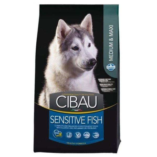 Cibau Sensitive Fish Medium & Maxi-12Kg