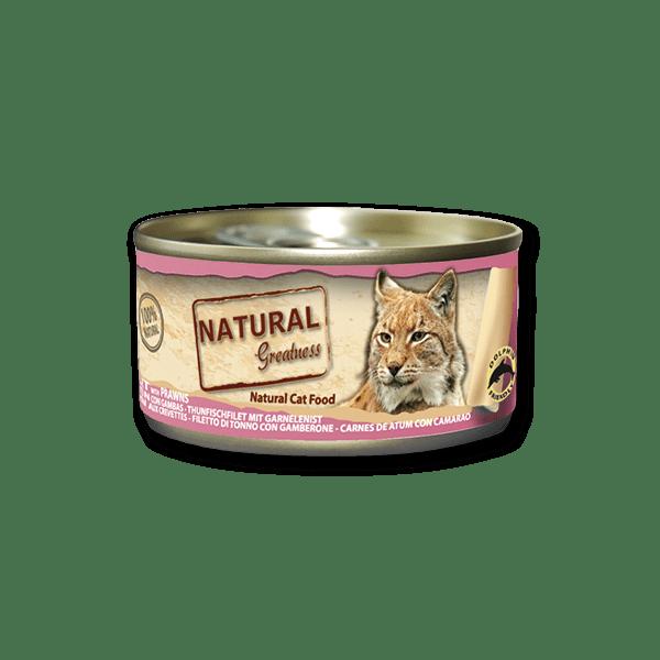 Natural & Greatness Bife de Atum com Camarão 70g