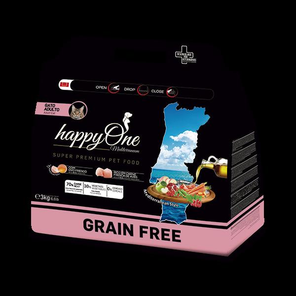 HAPPYONE MEDITERRANEUM GATO  3kg