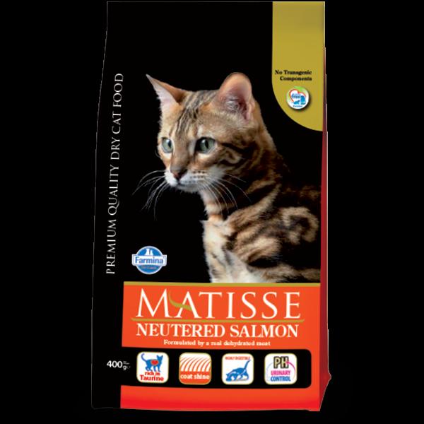 MATISSE NEUTERED SALMON -10Kg
