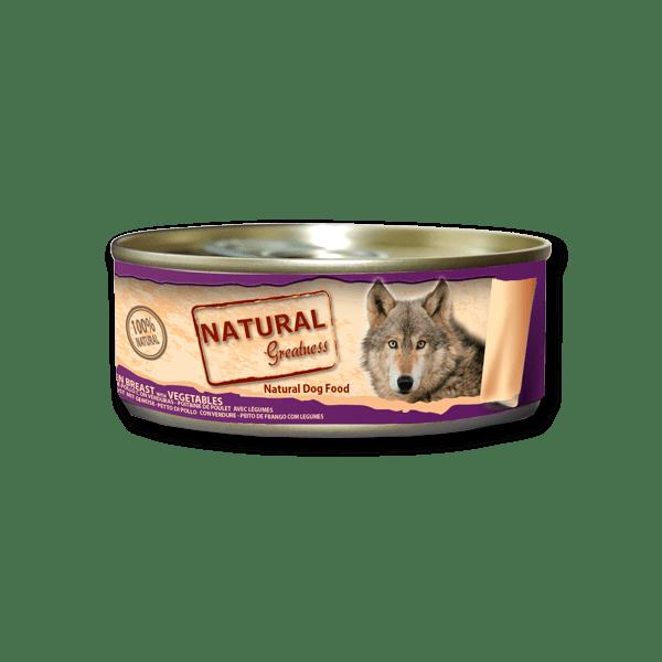 Natural & Greatness Peito de frango com Vegetais 156g