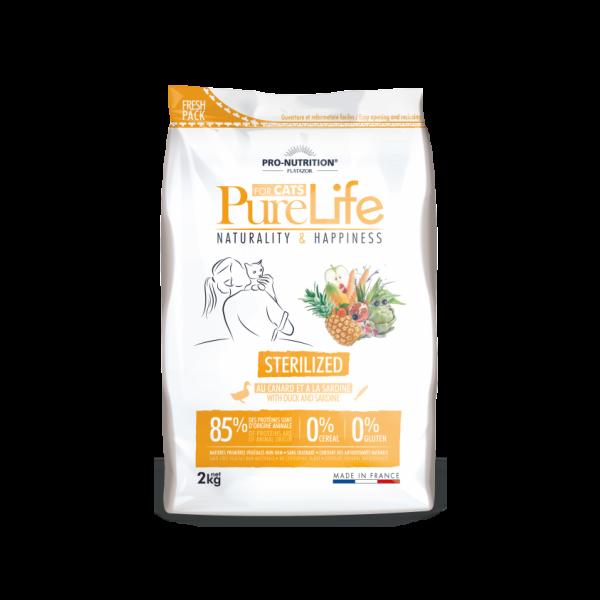 Flatazor Pure Life Grain Free Sterilized 2kg