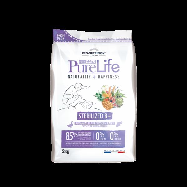 Flatazor Pure Life A Sterilizado 8+ ans 2kg
