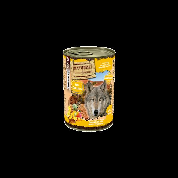 Kangaroo & Pineapple with Mango & Spirulina