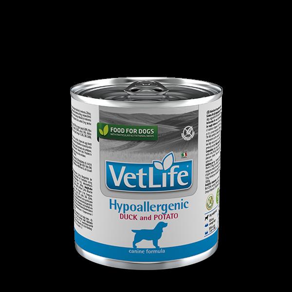 Vet Life Hypoallergenic Duck and Potato 300g