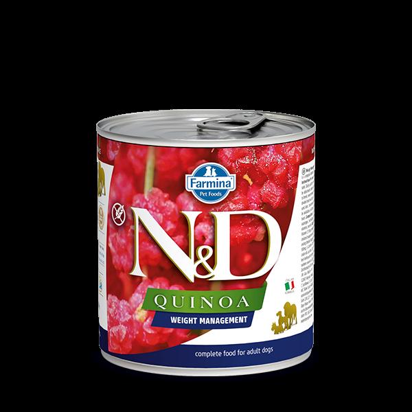 N&D Quinoa Weight management wet food 285g