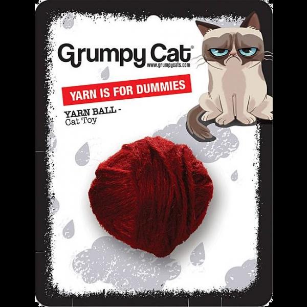 Grumpy Cat Yarn Ball for Dummies
