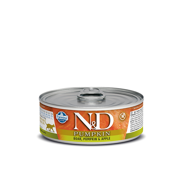 N&D BOAR, PUMPKIN & APPLE WET FOOD 80 g
